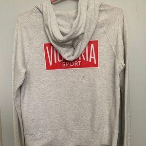 Victoria sport oatmeal hoodie